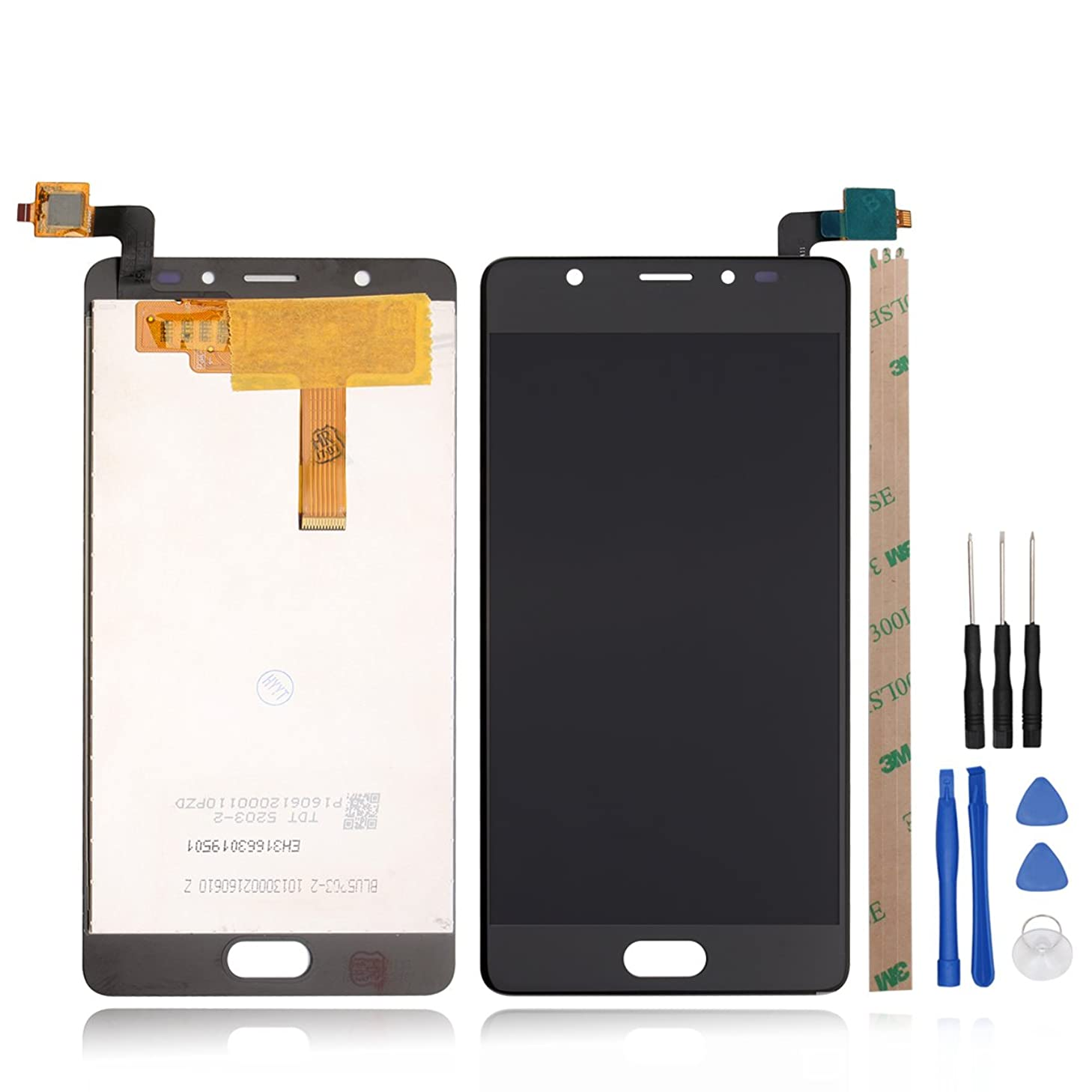 HYYT Replacement For BLU Life One X2 L0090UU L0091UU LCD Display and Touch Screen Digitizer Glass+Tools