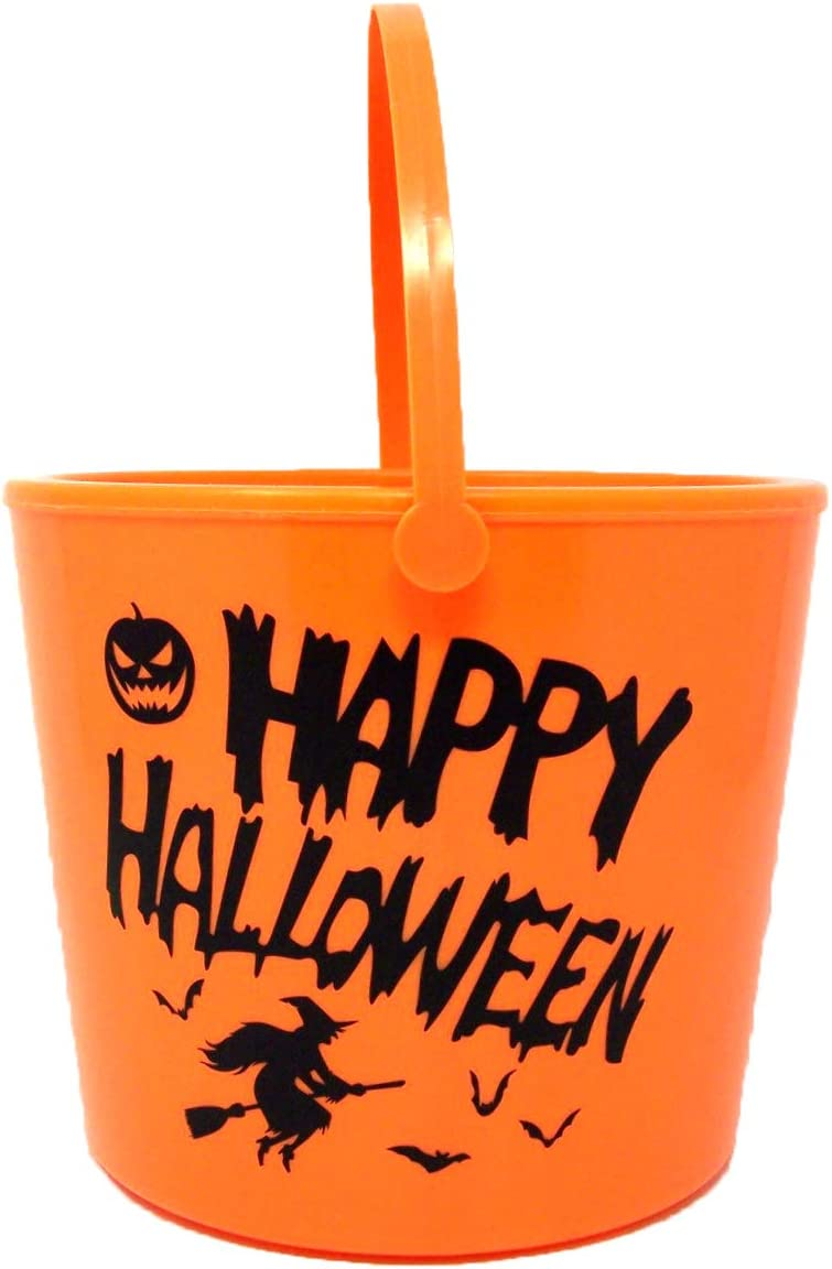 Orange Happy Halloween Trick or Treat LED In Candy Don't miss the Trust campaign 1 6 2 Bucket