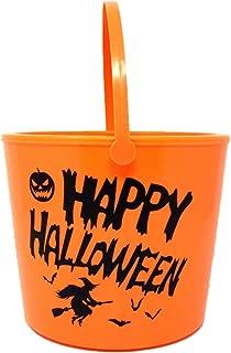 led lighted halloween buckets