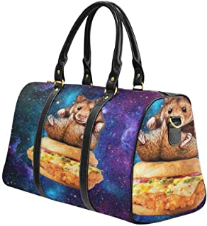 InterestPrint Carry-on Garment Bag Travel Bag Duffel Bag Weekend Bag Cat Paw