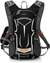 LOCALLION Cycling Backpack Biking Daypack Bike Rucksack Cycling Rucksack for Outdoor Sports Running Travelling Mountaineering Ultralight Breathable Hydration Pack Men Women 18L