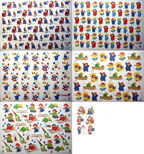 Tophobby 12 Stück Grosse 3D Schneidebögen - 50x70 - Paddington Bear - Für jeden etwas - Erstellen Sie schöne Karten und Scrapbook