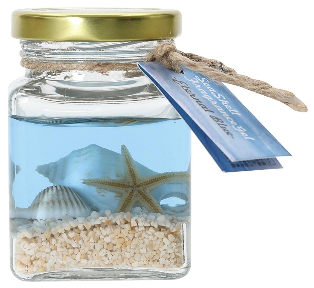 顧問絶え間ない飢えノルコーポレーション ルームフレグランス ジェル シーシェル エターナルブルー の香り OA-SSG-1-4