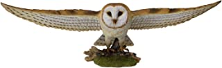 Pacific Giftware Animal World Flying Open Wing Barn Owl Figurine Statue