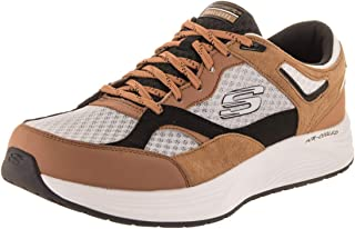 Skechers Skyline Alphaborne - Zapato Informal de Ajuste Ancho para Hombre