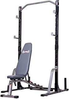 Body Champ 2-Piece Power Rack with Weight Bench