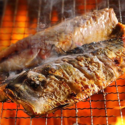 特大サイズ 国産 無塩さばフィレ 25枚入 5kg(1枚約200g) 鯖の塩焼き、鯖の味噌煮に