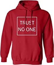 Trust No One Adult Hooded Sweatshirt