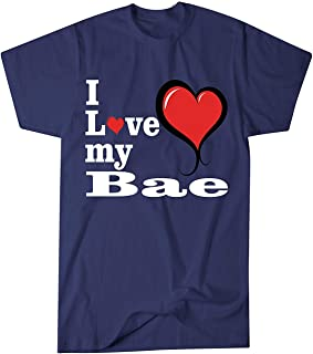 ZoDong Adult Unisex I Love My Bae Great Gift for Bae Novelty T-Shirt
