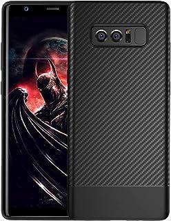 Note 8 Case Samsung Galaxy Note 8 Case Slim Fit Ultra-Thin Shock Proof Dust Carbon Fiber Premium TPU Full Body Cover Prote...