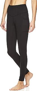 Women's Om Yoga Pants - Performance Compression Full Length Spandex Leggings