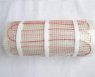 Estera calefactora de suelo radiante 150w por M2 for azulejos, cerámica, porcelana, pisos de piedra, etc. Estera calefactora de cable de PVC, 150 W / m2-2.5m2 Entrega de color al azar COMPATIBLE ANCHO