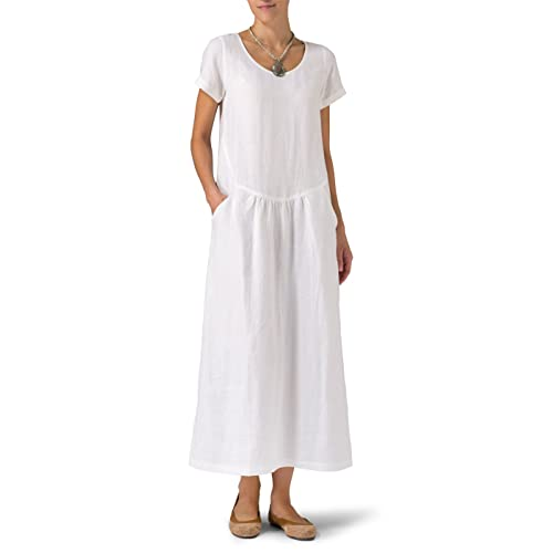 484fce22fe Women s Linen Dresses  Amazon.com