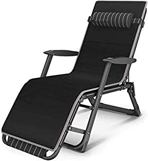 Sun Lounger Garden Chairs Patio Reclining Chairs Zero Gravity Chair,Patio Reclining Chairs Lunch Break Chair Portable Balc...
