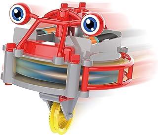 Lanceasy Repdans skottkärra leksak elektrisk balans bil luminous tumbler skottkärra leksak barntävling leksak