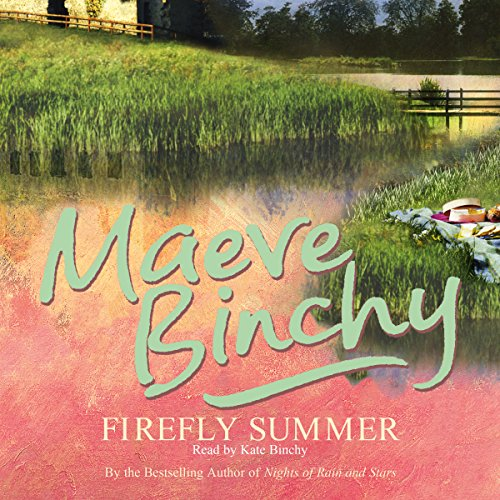 Firefly Summer audiobook cover art