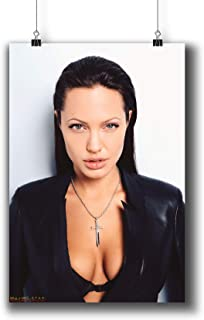 Angelina Jolie Actress Movie Photo Poster Prints 405-003,Wall Art Decor for Dorm Bedroom Living Room (A3 11x17inch 29x42cm)