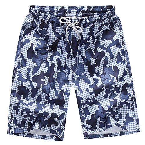 Kariwell Men Shorts Swim Trunks - Summer Quick Dry Beach Surfing Running Swimming Shorts Pants for Swimming Running Hiking Sfuring Kari-62