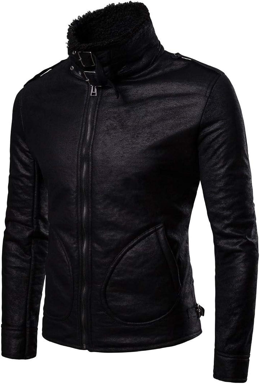 4507d51d5f808b Vska Vska Vska Men Plus Size Motorcycle Skinny Black Faux Leather Jackets  268dfc