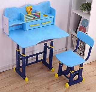 RAN-KID-DS-1002 Kids' Study Table, Blue - 70x70x50cm