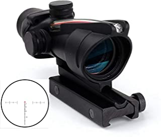 wipboten Rifle Scope 4x32 Scope True Fiber Chevron Riflescope Optical Sights