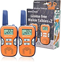 Kids Walkie Talkies Rechargeable Walkie Talkies for Kids with 22CH 3 Miles Long Range Walkie Talkie Toy for Boys Girls Gifts Toys Two Way Radios for Outdoor Activities Camping Hunting Hiking 2 Pack