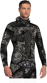 Omer Blackstone 5mm Men's Spearfishing Camo Wetsuit Jacket Camouflage Top