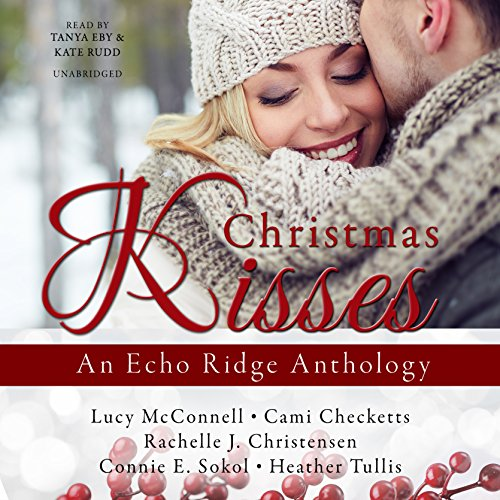 Christmas Kisses audiobook cover art