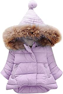Saoye Fashion Abrigo De Bebé Chaqueta De Invierno Con Capucha Para Niños Ropa de Fiesta Abrigo De Invierno Con Capucha Par...