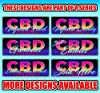 Best Cbd Edibles 13 oz Banner | Non-Fabric | Heavy-Duty Vinyl Single-Sided with Metal Grommets #4