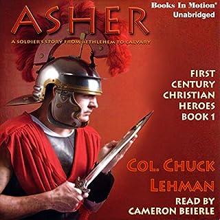 Asher audiobook cover art