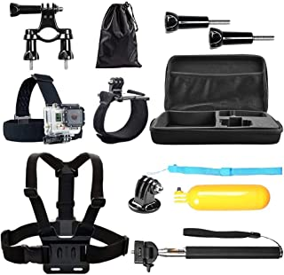Happyjoy Floaty Hand Grip Strap Head Chest Mount Bag Accessories for GoPro Hero 1 2 3 4