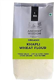 Organic Khapli Wheat (Emmer Wheat) Flour - 1 KG (35.27 Oz)