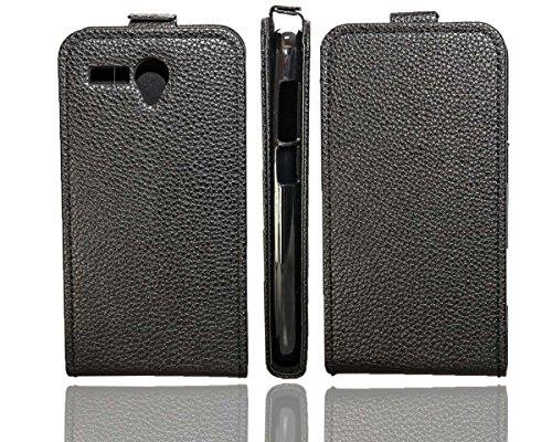 caseroxx Flip Cover für Mobistel Cynus T6, Tasche (Flip Cover in schwarz)