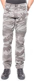 Men's Camo Ripstop Geno Relaxed Slim Moto Pant