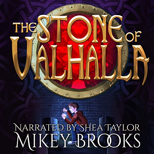 The Stone of Valhalla audiobook cover art