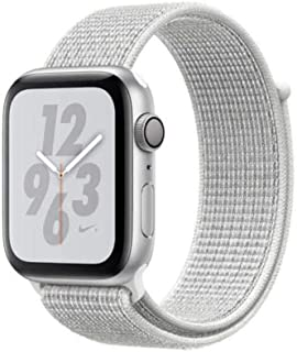 for Apple Watch Series 1 2 3 Woven Nylon Band Strap for iWatch 4 5 Colorful Pattern Classic Buckle 38mm 42mm 40mm 44mm Band ,White Reflective,for 42mm and 44mm