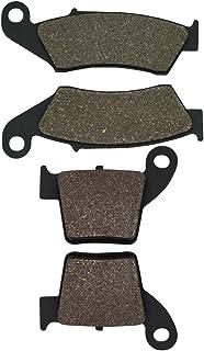 Cyleto Bremsbeläge vorne und hinten für CRF250 X RW CRF250R CRF250 X 2004 2010 2011 2012 2013 2014 2015 2016 2017