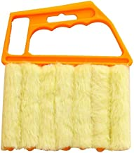 Brush Venetian Blind Cleaner Window Cleaner Brush 7 Slat Removable Washable Dust Collector Microfiber Cleaning Cloth Tools...