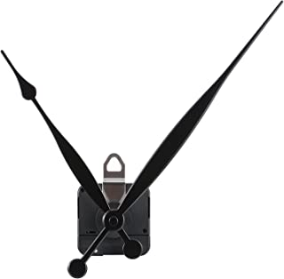 Hicarer High Torque Quartz Clock Movement Replacement Parts with 208 mm/ 8.2 Inches Long Spade Hands and Hanger (15 mm (3/5 Inches))