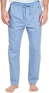 Men's Soft Woven Pajama Pant (Blue Bone, 3XLT Tall)