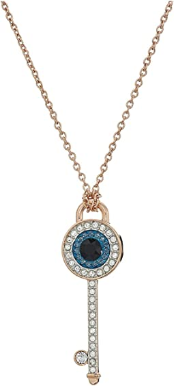 Duo Evil Eye Pendant Necklace