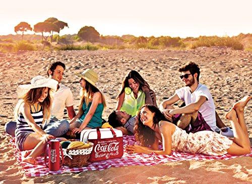 Meliconi Coca Cola Zaino Termico 20 Lt, 600d PU, Rosso, 30.0x20.0x36.0 cm