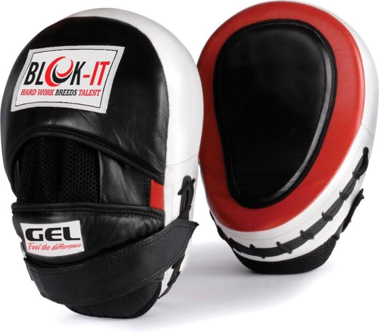 ギャロップハードリング残忍なゲル入りパンチングミット: Blok-iT - [パンチングパッド、パンチミットボクシングパッド、パンチンググローブ、フック&ジャブパッド] - ボクシング、MMA、タイボクシング、キックボクシング、ボクササイズ、空手、テコンドー、クラヴマガ、詠春拳、その他格闘技に最適