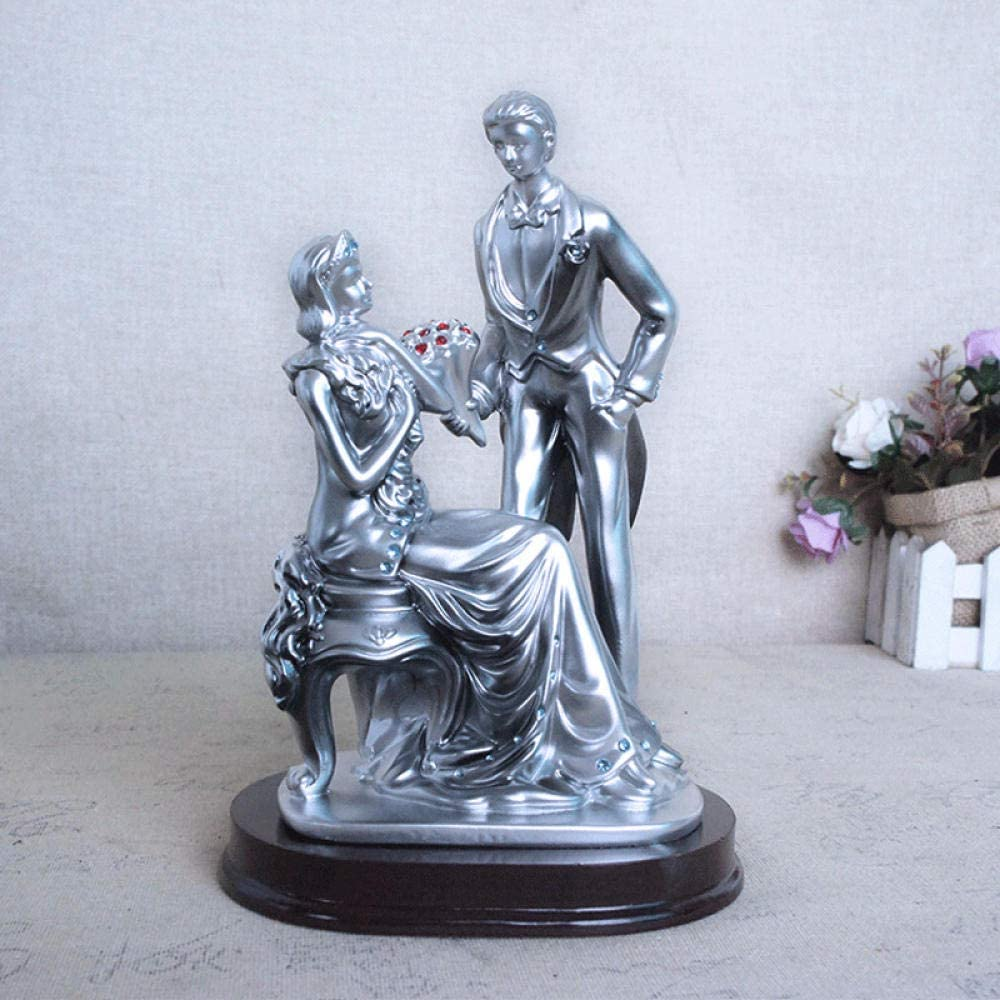 BFRTH Statues and Sculptures Love Couple Wedding Max 55% OFF Statue Figures Same day shipping