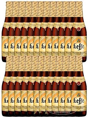 Leffe Blond Belgian Bier 24 x 0,33 Liter