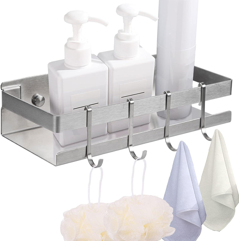 Estantería de baño adhesiva Vivilinen con drenaje por sólo 9,99€ usando el #código: 9EI6HBWZ