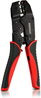 Neiko 40405A Handheld Manual Ratcheting Crimper Tool for Electrical Wire Terminals