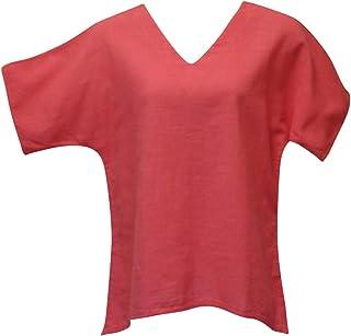 Ezze Wear Women`s Coral Blush California Cotton Brisa Top