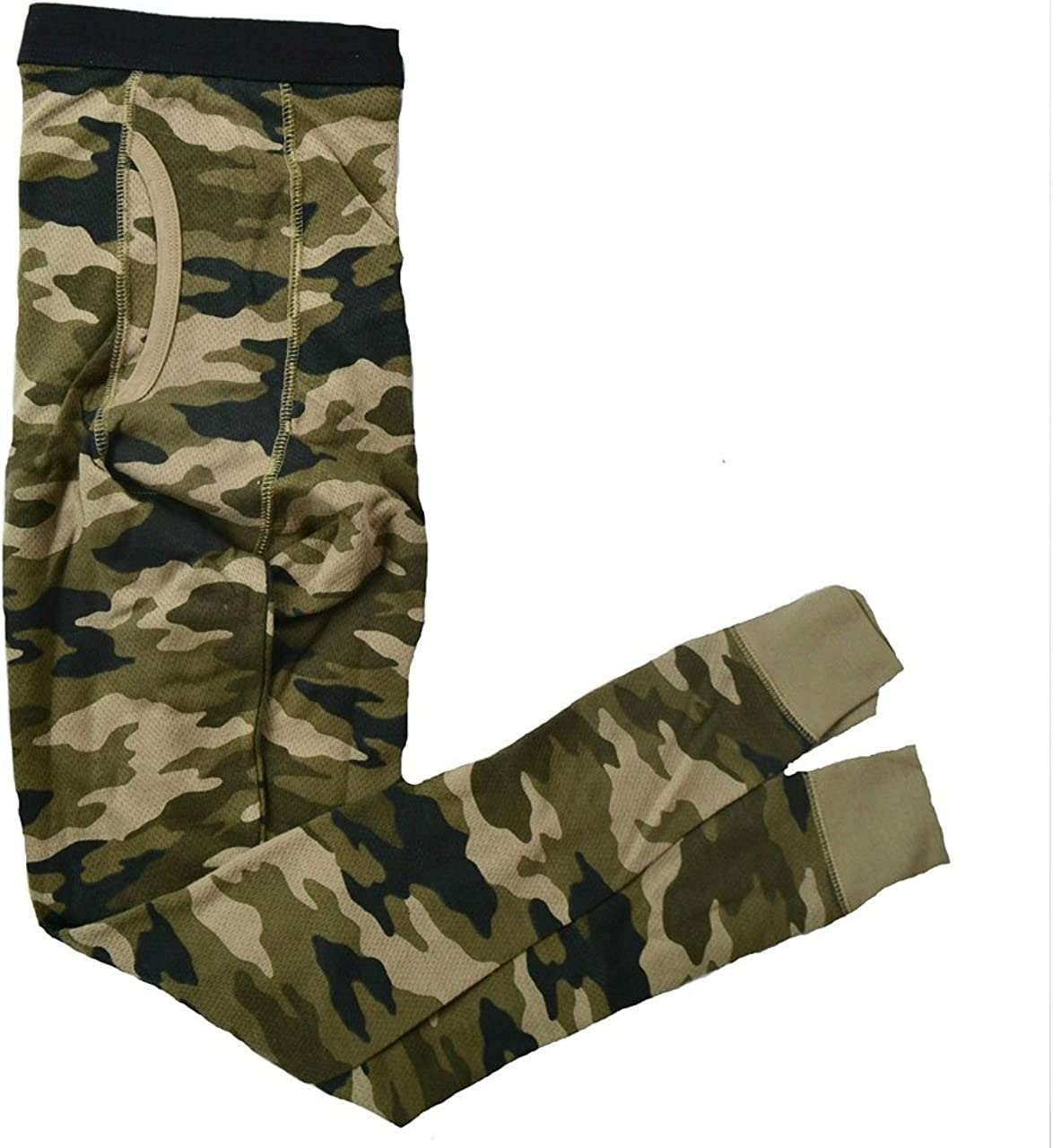Croft & Barrow Mens Camouflage Thermal Pants - Size